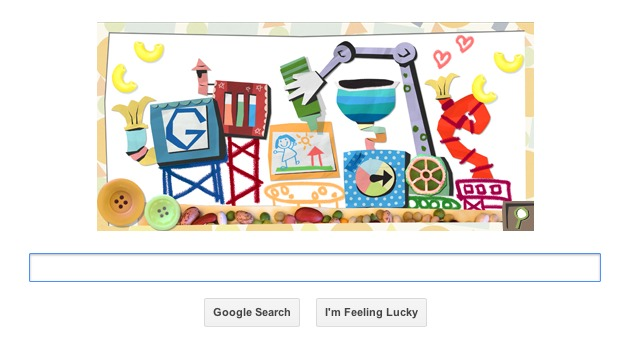 Mother's Day 2013 marked with an elaborate Google doodle