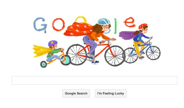 Google Doodle Says Happy Mother's Day 2014