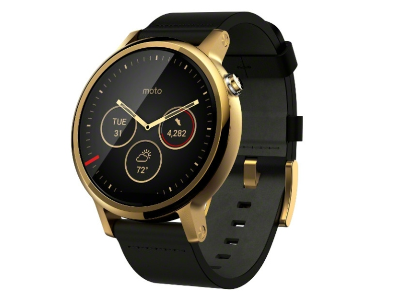 a6fdacec7 Moto 360 (2nd Gen) Android Wear Smartwatch Launched at Rs. 19