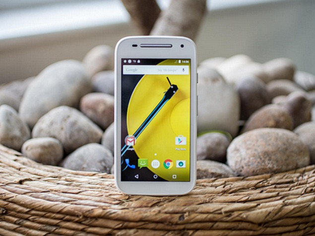 Motorola Moto E (Gen 2) 4G Goes on Sale in India From Tuesday