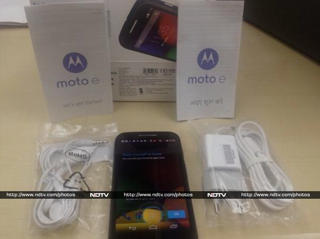Moto E: Hands on With the New 'Moto' in Town