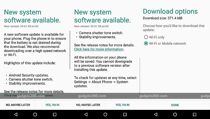 Moto G (Gen. 3) Now Receiving Android 6.0.1 Marshmallow Update in India