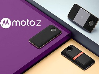 Moto Z, Moto Z Force With 'Moto Mods' Magnetic Snap-On Back Panels Launched