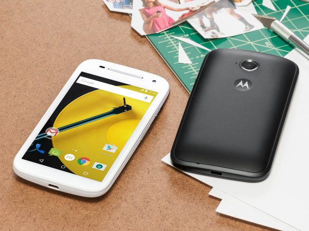 Motorola Moto E (Gen 2) With Android 5.0 Lollipop and LTE Variant Launched