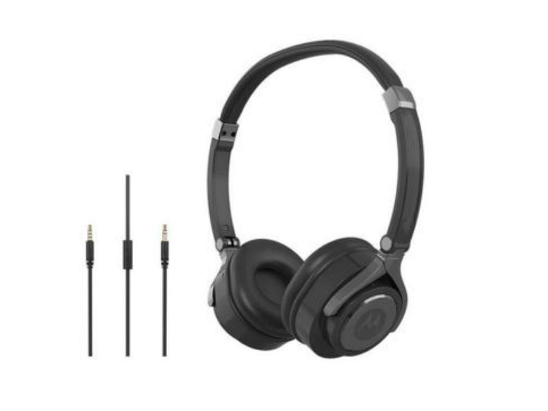 Motorola Pulse 2 Wired On-Ear Headphones Launched at Rs. 799
