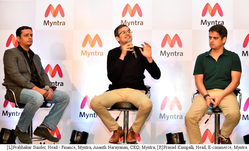 Myntra Clocks $800 Million GMV Run Rate in January 2016