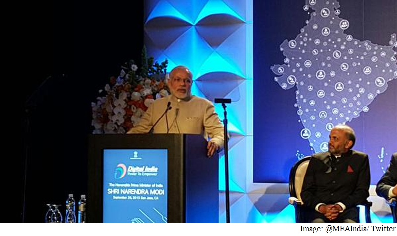 Prime Minister Narendra Modi Courts Silicon Valley Executives at Dinner