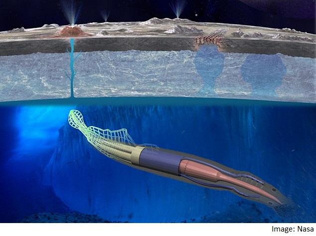 Nasa Developing Robotic Eel to Explore Jupiter's Moon Europa