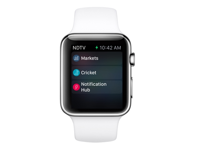 NDTV News, Now on Your Apple Watch