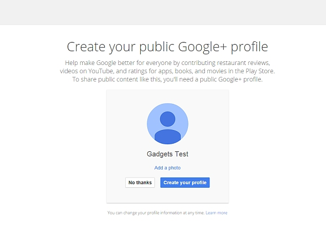 how to create google talk account