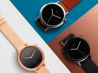 Motorola Launches New Moto 360 Smartwatch, Unveils Moto 360 Sport