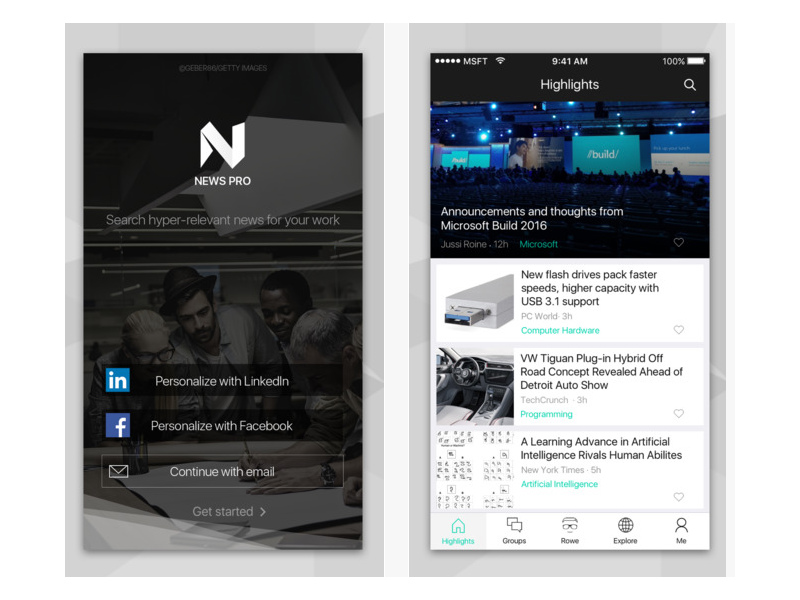 Microsoft News Pro Update Introduces 'Rowe' News Recommendation Bot