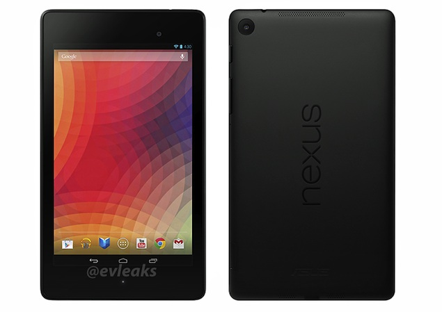 Purported images of next generation Nexus 7 leak days ahead of expected launch