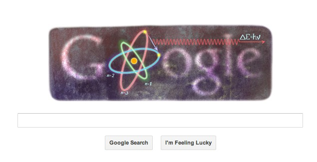 Niels Bohr's 127th birthday marked by Google doodle