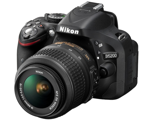 Nikon announces D5200 DSLR for Rs. 46,950; ships this December