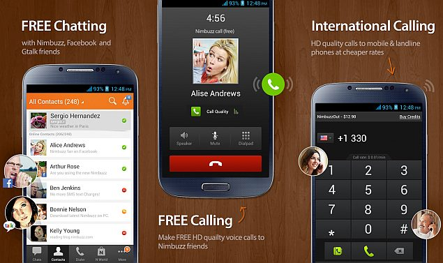 Nimbuzz offers 100 free international calling minutes on LG