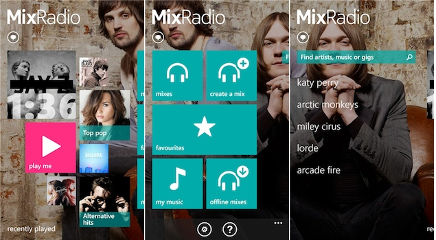 Nokia Music rebranded as MixRadio, Windows Phone app overhauled