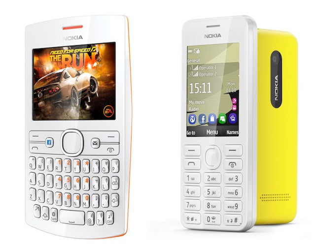 Nokia announces Asha 205, Nokia 206 mobile phones with dual-SIM options