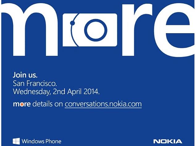 Nokia announces April 2 event, may unveil Lumia 630 and Lumia 930