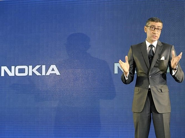 CEO Rajeev Suri Says Nokia Has Strong Momentum in Europe Sales