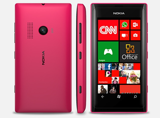 Nokia unveils Lumia 505 with Windows Phone 7.8, 8-megapixel camera