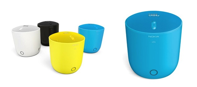 Nokia partners with JBL to unveil NFC-enabled MD-PlayUp Portable speakers