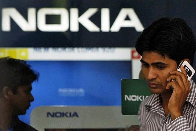 Nokia protests 'absurd' EUR 300 million Indian sales tax claim