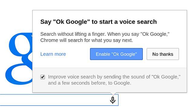 Google Chrome 35 Release Brings 'Ok Google' Voice Search Command to All