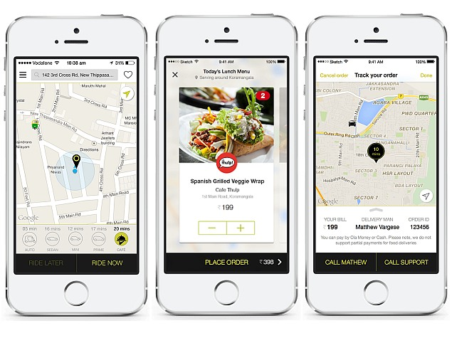 Ola Launches Food Delivery Service in Select Cities
