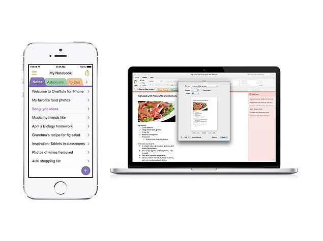 Microsoft OneNote for iPhone and Mac Updated With User-Requested Features