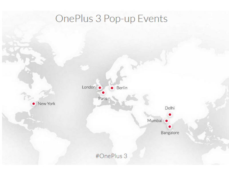 OnePlus 3 to Be Available at Pop-Up Events on June 15; More Camera Samples Released