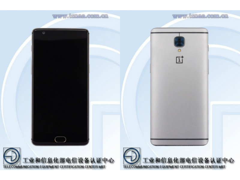 OnePlus 3 Gets Listed on Certification Site With Images, Specifications