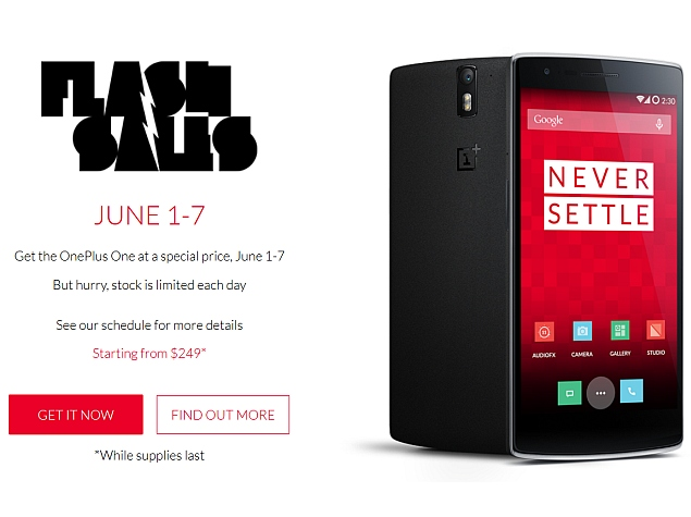 OnePlus One Price Slashed for a Limited Time