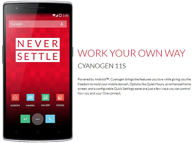 OnePlus One to Get Custom Android Build in India Over Cyanogen-Micromax Deal