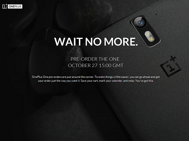 OnePlus One Pre-Orders Will Open for Just 1 Hour on October 27
