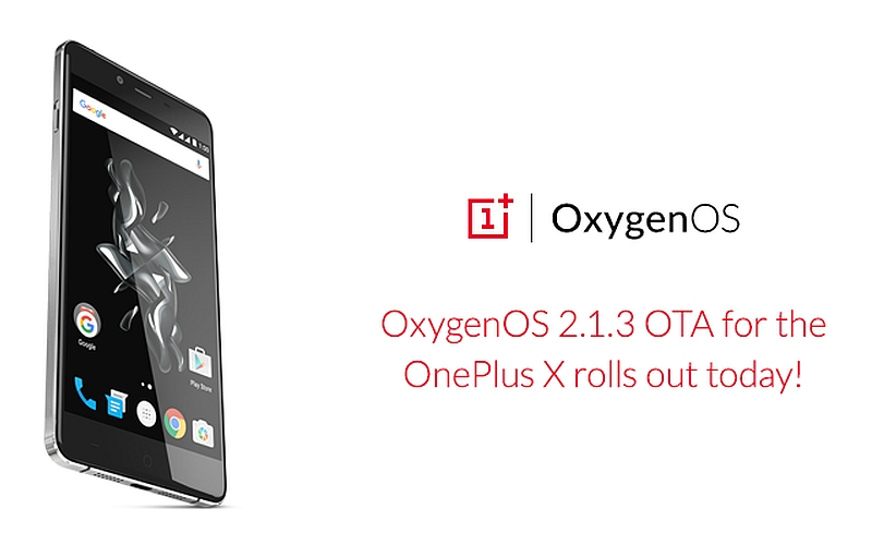 OnePlus X Starts Receiving OxygenOS Update With SD Card Improvements, and More