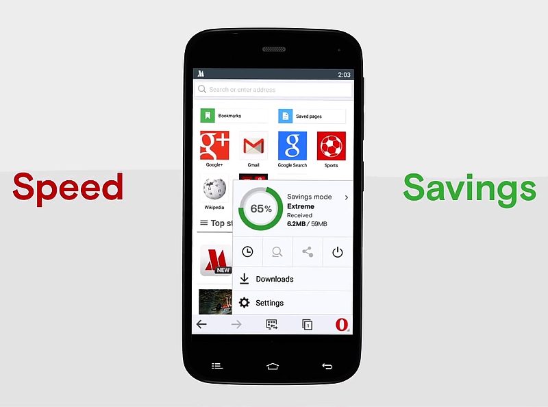Opera Mini 11 for Android Adds New Data Compression Feature