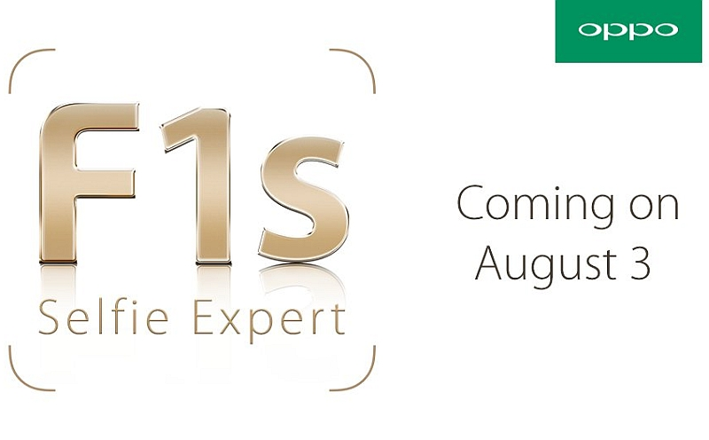Oppo F1s Selfie-Focused Smartphone to Launch in August
