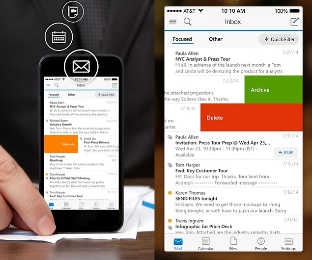 Microsoft Working on 'Flow by Outlook' Lightweight Email App for iOS