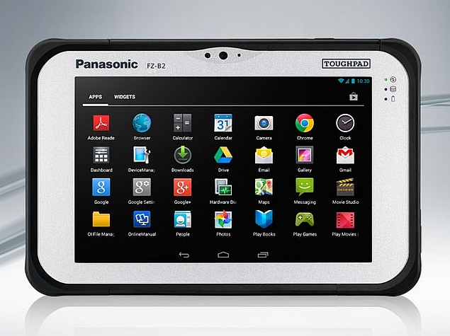 Panasonic FZ-B2 Rugged Tablet With Android 4.4 KitKat Launched