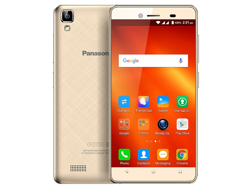 Panasonic T50 With 4.5-Inch Display, Sail UI Launched at Rs. 4,990