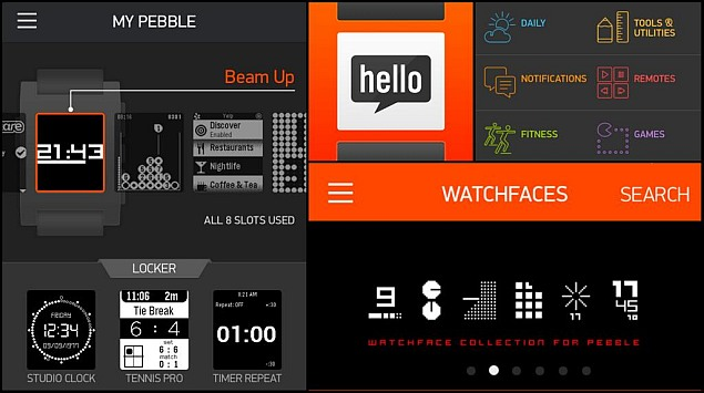 Pebble appstore goes live for iOS, Android appstore in beta testing