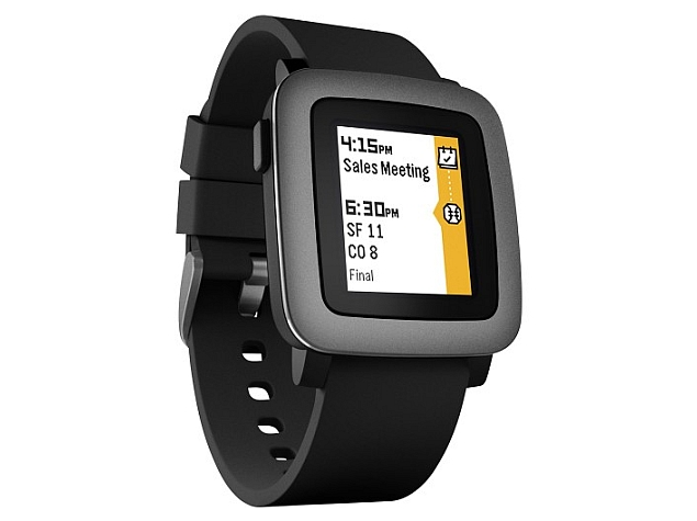 Pebble Time Smartwatch With E-Paper Display Goes Up for Pre-Orders
