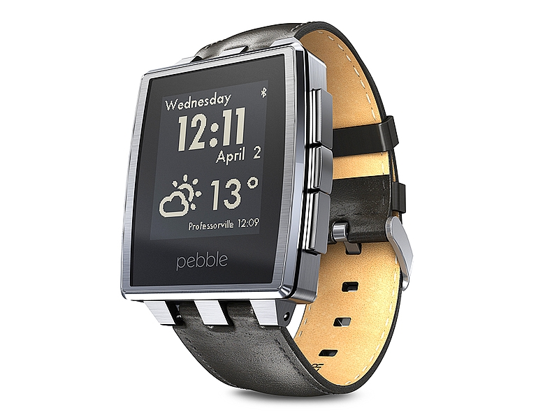 Pebble Time Smartwatches Get Voice Recognition Support