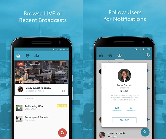 Twitter's Periscope for Android Now Available for Download
