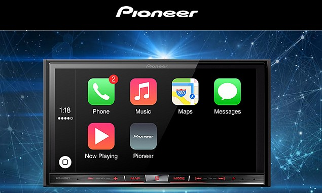 pioneer says apple carplay update coming to select systems. Black Bedroom Furniture Sets. Home Design Ideas