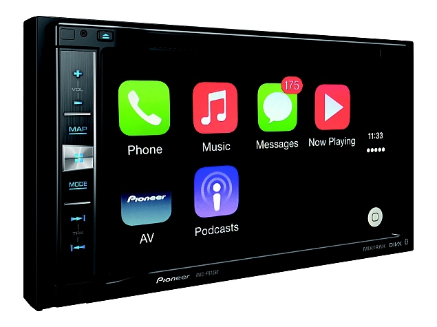 Pioneer Launches Apple CarPlay-Enabled Entertainment System at Rs. 39,990