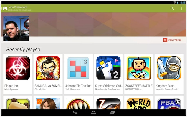 Google Play Games app brings social gaming to Android | Technology News