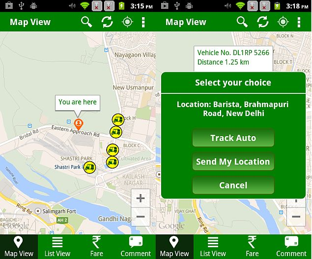 New App Lets Delhi Residents Book GPS-Fitted Auto Rickshaws