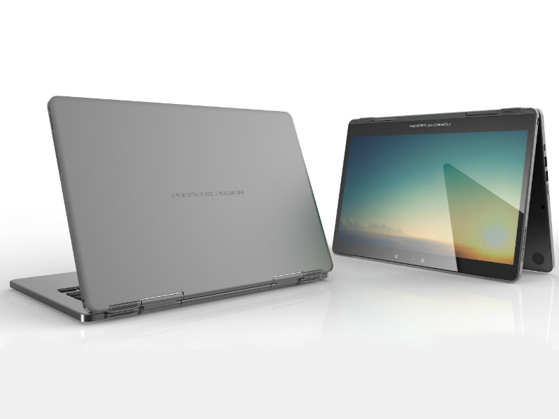 Microsoft Unveils Porsche Design 2-in-1 Laptop; Opens Up Windows Hello Platform